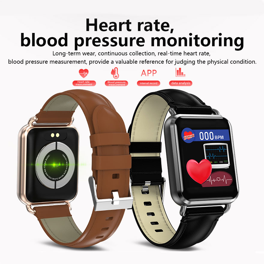 2019 NEW Sports Smart Watch Heart Rate Blood Pressure Blood Oxygen Monitor Pedometer Fitness Tracker Men Smartwatch For Android in Smart Watches from Consumer Electronics