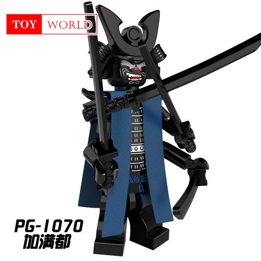 Hot Ninja Kai Jay Zane Cole Lloyd Carmadon Compatible With LegoINGlys Ninjagoes figures Building Block Toys for kids gifts zk5