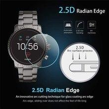 2 opakowanie dla Fossil Q Explorist HR Gen 4 0.3mm 2.5D przezroczyste ochronne szkło hartowane na ekran Smartwatch folia ochronna na ekran folia ochronna
