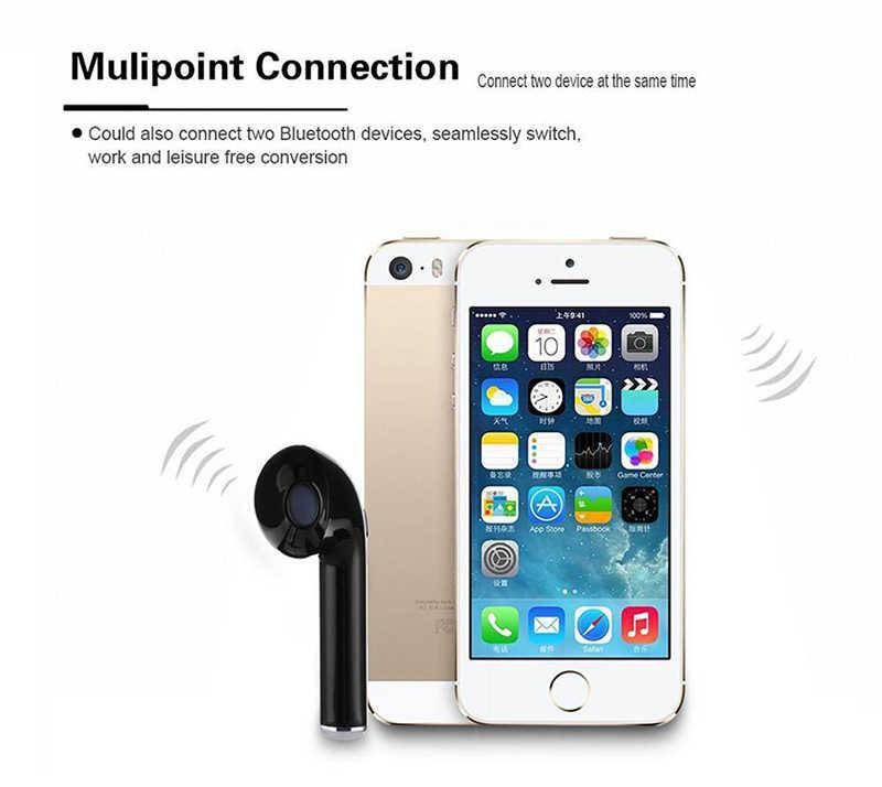 I7S TWS bezprzewodowe słuchawki z Bluetooth przenośny zestaw słuchawkowy Bluetooth i7S TWS z etui z funkcją ładowania Bluetooth zestaw słuchawkowy do iphone'a xiaomi