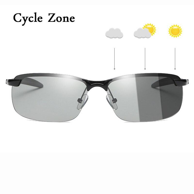 2018 Lentes fotocromáticas Ciclismo Óculos Polarizados Homens Mulheres Óculos  de Desporto Ao Ar Livre MTB Estrada Gozluk Motociclista Óculos de Sol de  Pesca ec67100fdb