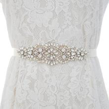 Vrouwen свадьбы на ремешке; по сниженным ценам ремень аксессуары Off White лента Bruids Sjerpen Riemen Voor Avond PartDress створки для свадьбы аксессуары