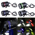 1PC Catuo 1 xUniversal Waterproof Black Shell U3 LED 30W Motor Bike Motorcycle Headlight Spot Light Angel Eye Lamp