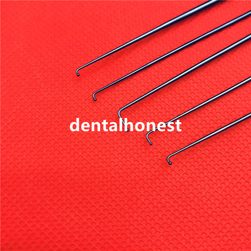 High Quality Titanium Krayenblhl Micro Nerve and vessel hook with probe pointed head tools instrumentHigh Quality Titanium Krayenblhl Micro Nerve and vessel hook with probe pointed head tools instrument