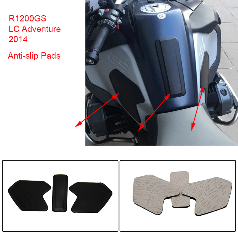 For BMW R1200GS LC ADV Adventure 2014 2015 2016 2017 2018 Motorcycle Rubber Pad Oil Gas