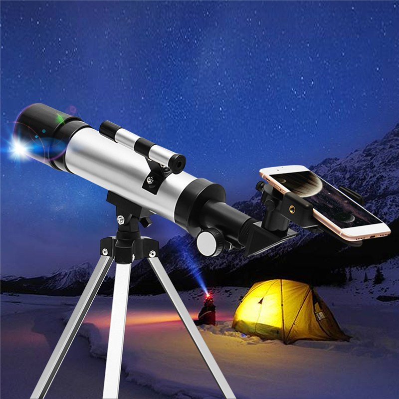 Outdoor Zoom HD Astronomical Telescope Monocular Moon Bird Watching Kids Gift Match phone