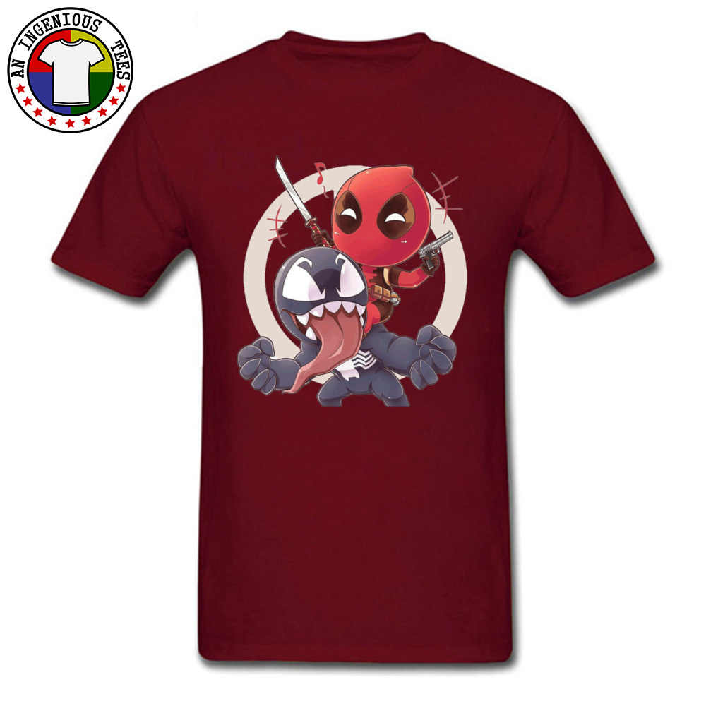 Deadpool Venom Justice League Heroes T Shirts Toten Pool Corps Erstaunliche T-shirts Herren USA Film T-Shirts