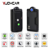 VJOYCAR Magnet Waterproof Portable GPS Tracker Car Accessories Motorcycle GSM Locator Vehicle Sensor Real Time Tracking Device