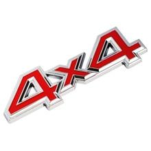 1Pc Metallic 3D 4×4 Auto Automotive Sticker four Drive Emblem Badge for JEEP Patriot Wrangler Grand Cherokee Compass for Prado Automotive Styling