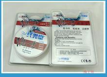 2015 Бренд 50 М Лидер 100% Углерода Фтороуглерод Лески Япония Импорт материал 0.15 мм-0.47 мм 4 5 7 9 14 16 20 24 28 32LB