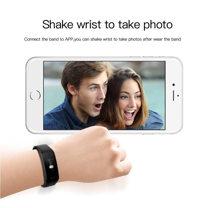 Sport Smart Bracelet Watch blood pressure heart rate sleep monitor blood oxygen pedometer Waterproof Clock for IOS Android