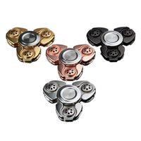 CKF Alloy EDC Tri Spinner Fidgets Anti Stress Sensory Finger Hand Spinner Reduce Pressuse Toys BM88