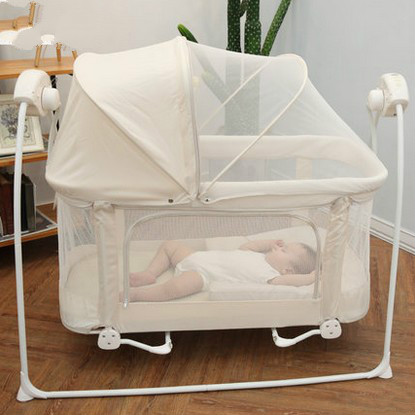 купить Baby bed rocking bed  multi-purpose baby electric cradle-bed дешево