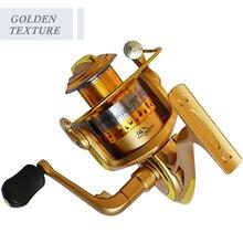 FUXIN Excessive Velocity Fishing Reels G-Ratio 5.1:1 Bait Folding Rocker spinning wheel fishing reel carpa molinete de pesca