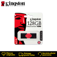 Original Kingston DataTraveler DT106 usb Flash Drive 128GB computer usb pull type pendrive usb 3.0 encryption usb stick u disk