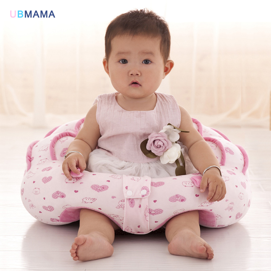 Large size 50*45cm high quality PP cotton padded baby chair cartoon cute children's sofa baby play sofa baby eating chair