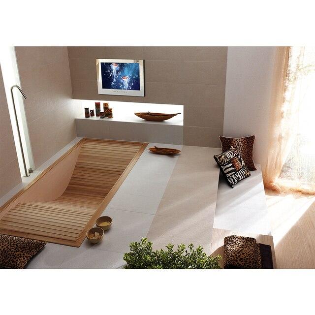 Souria 15.6 inch Android 9.0 Bathroom LED TV IP66 Waterproof Hotel Vanishing WIFI HD (Magic Mirror /Black /White) 5