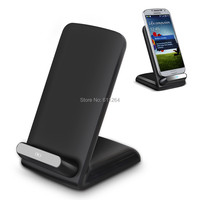 Qi Wireless Charger Charging Pad Transmitter Phone Holder Stand with 3 coils for Samsung Note 7 S7 S6 Edge iPhone 6 Plus Nokia
