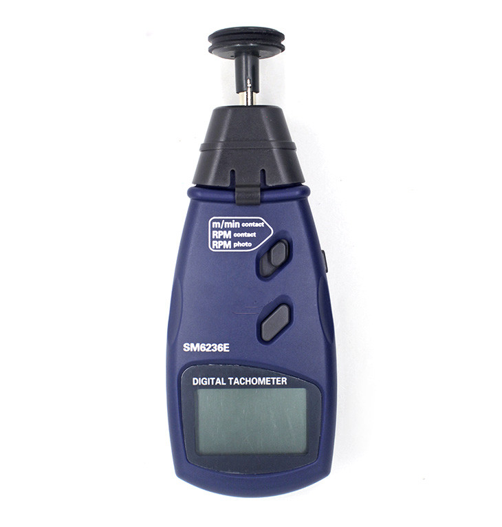 New Professional Digital Handheld Photo Tachometer SM6236E Portable Non-contact Surface Speed Meter High Accuracy Tachometer laser type tachometer portable digital tachometer