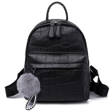 Women's Backpack Fashion School Bags For Teenagers Girls  Women Backpacks Soft  High Quality PU Leather bag for women 2018 недорго, оригинальная цена