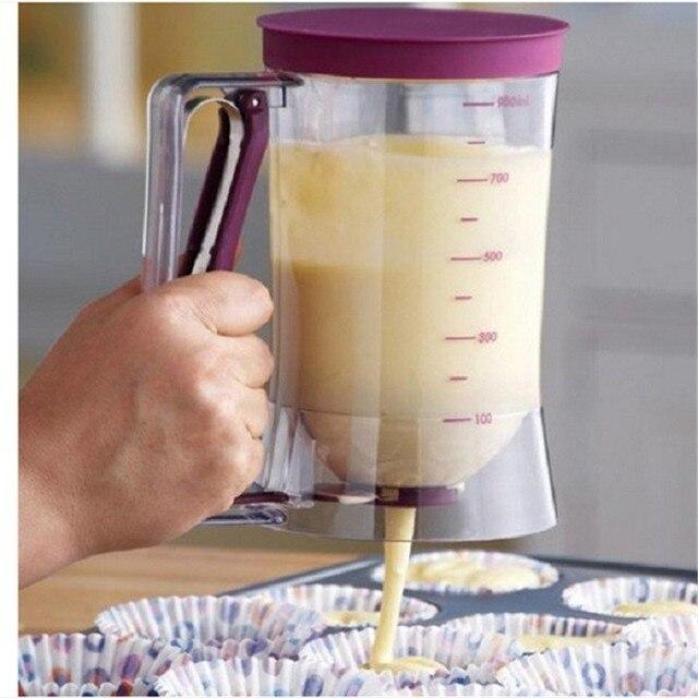 Icing Piping Cream Pastry Baking Essentials Cake Batter Dispenser Dough Cupcake Batter intelligentize Dispensers bakeware Tools