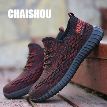 Comfortable Work Shoes | Men Work Shoes Boots 2019 Spring Summer Breathable Comfortable Steel Toe Cap Anti-smashing Anti-piercing Safety Shoes CS-295