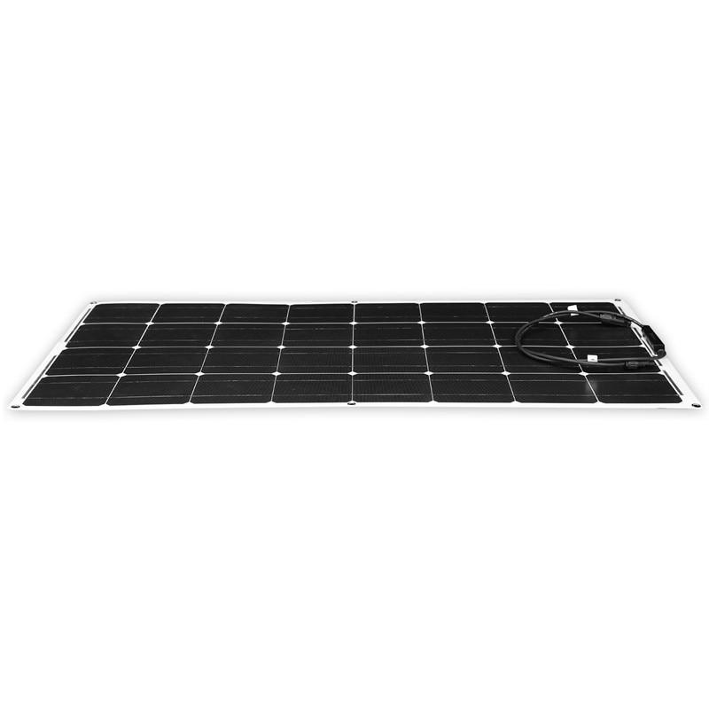 Image 5 - Dokio 12V 100W Monocrystalline Flexible Solar Panel Portable 100W Panel Solar For 16V Car/Boat/Home Panel Solar 200w China-in Solar Cells from Consumer Electronics