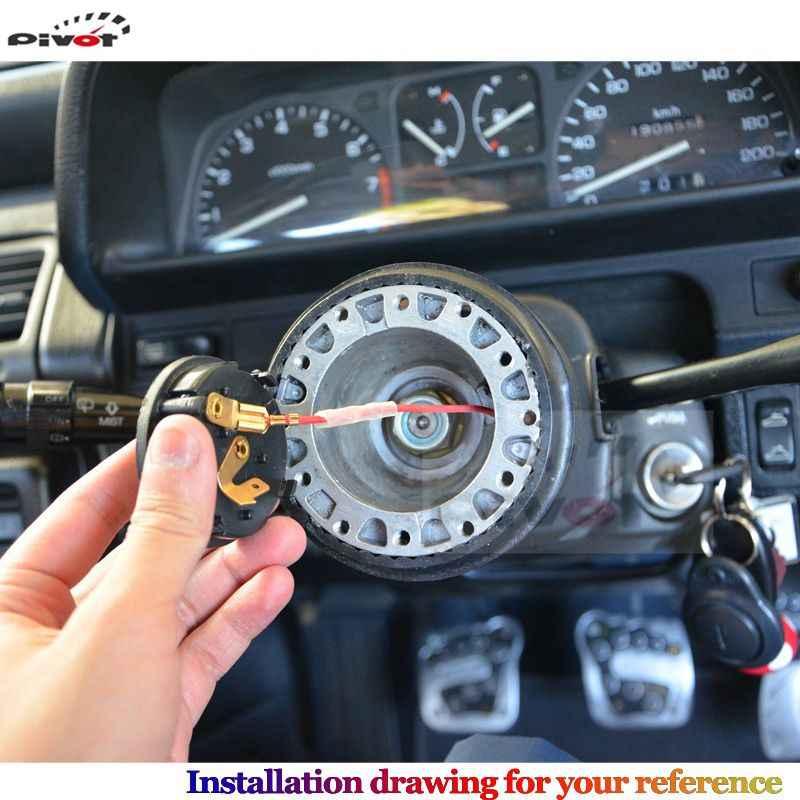 Kit d'adaptateur de moyeu de dégagement rapide de volant de Mode de voiture automatique OT-47 (OT16) pour Toyota HUB-OT-16