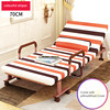 70cm Wide Folding Rollaway Bed Adjustable Guest Bed Chaise Lounge Chairs With Mattress And Pillow Bedroom