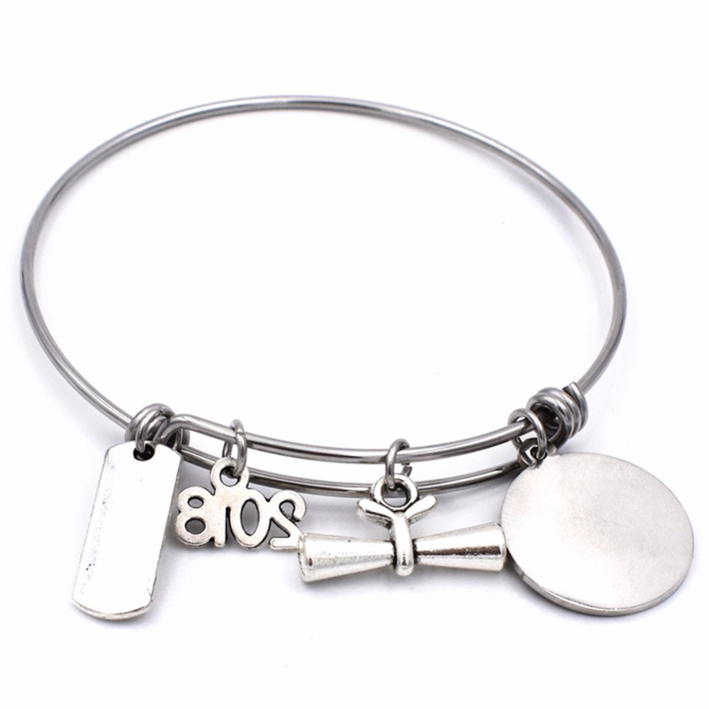 adjustable bangle bangles pin steel anchor unwritten stainless bracelets charm bracelet amazonite in and