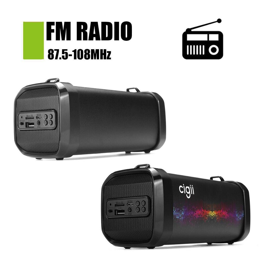 Mini haut-parleur Portable bluetooth haut-parleur extérieur sans fil boîte à musique stéréo basse Subwoofer Tweeter FM/AUX/USB/TF pour ordinateur PC - 3