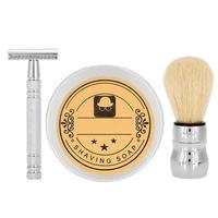 Man Shaver Men's Shaving Double Edge Safety Brushes Razor With Beard Brush Soap Razor Set