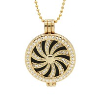 35mm Mi Moneda Pendants Locket Necklace Fit 33MM Dome Coin Round Disc Charm