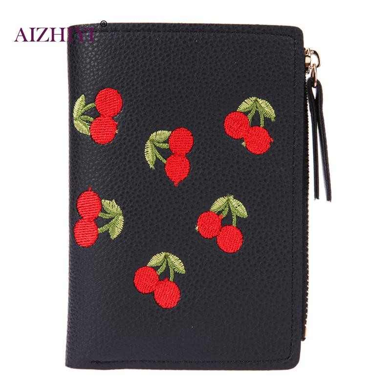 2018 Women Mini Wallets Female Tassel Pendant Short Money Wallets Fashion Card Holders PU Leather Lady Zipper Coin Purses