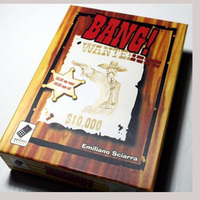 Bang Board Game Paper Card 5 7 Players Game Chinese Version Family Board Game Easy Play