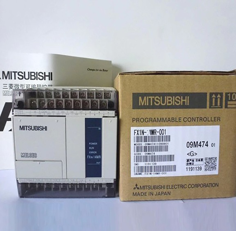 Mitsubishi PLC programmable controller FX1S-30MR-001 Y