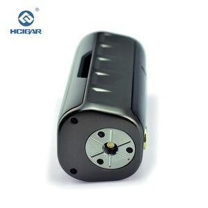 Image 2 - Oryginalny HCIGAR PANZER Vaper Mod dla podwójnej baterii 18650 TC/TCR/VW elektroniczny papieros 7 222W box Mod