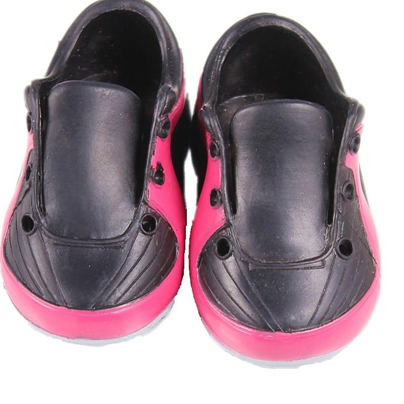 Кукла вещи Черный Спорт куклы baby born Интимные аксессуары Повседневное кукла Обувь Fit 43 см BABY born Zapf кукла DS44