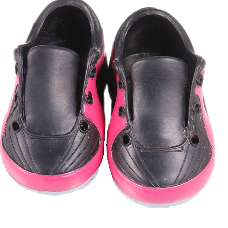 Doll Stuff Black sport Baby Born Doll Accessories Casual Doll Shoes Fit 43cm Baby Born Zapf Doll DS44
