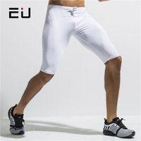 UE Pantaloncini Da Corsa Degli Uomini Quick Dry Jogging Compression Shorts con Coulisse Uomini Dry Fit Gym Sport Shorts Leggings Collant Da Corsa