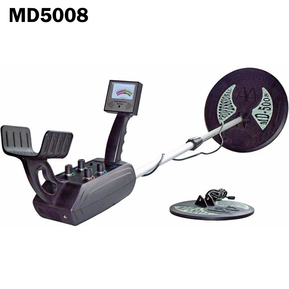 Kingdetector New Md 5008 Underground Gold Search Metal Detector Hot Pi Circuit Double Probes Silver Iron Solder Max