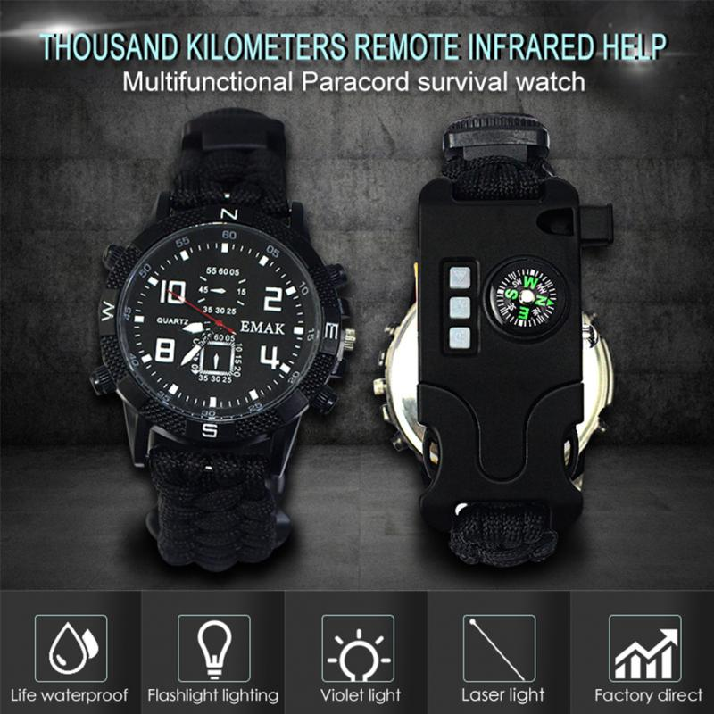 aeProduct.getSubject()  EDC Tactical multi Outside Tenting survival bracelet watch compass Rescue Rope paracord gear Instruments package HTB1u8IIxfuSBuNkHFqDxh4fhVXay