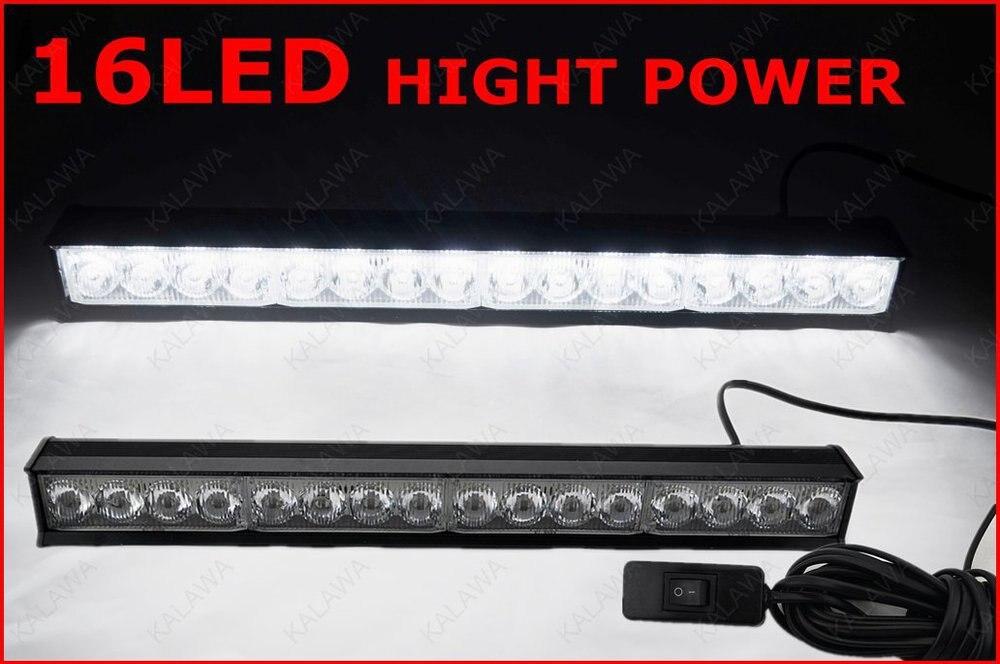 16X0.5 Вт/LED Strobe Light DC12V Высокой Мощности Автомобилей Вспышка Света Аварийно-ПРЕДУПРЕДИТЕЛЬНУЮ СИГНАЛИЗАЦИЮ 51052B бесплатная доставка (# GG)