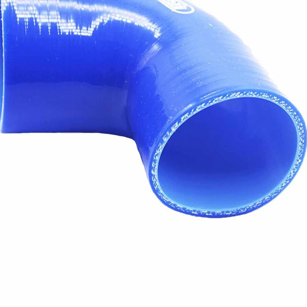 /nero 60/mm/ 180/gradi silicone Turbo e refrigerante tubo flessibile gomito ID