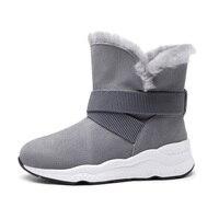 2018 nuovo inverno due indossare stivali da neve stivali di pelle di pecora delle donne stivali davvero pima ding stivali femminili pendenza con piatto