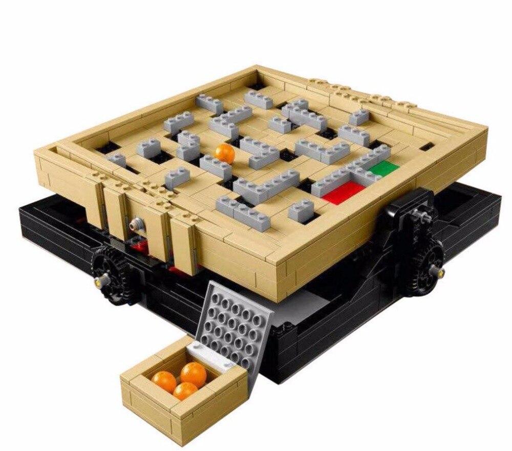 LELE 39000 769 pcs IDÉES Série La Creative Marbres Labyrinthe Modèle Blocs de Construction Briques Jouets Compatible Avec 21305 16023