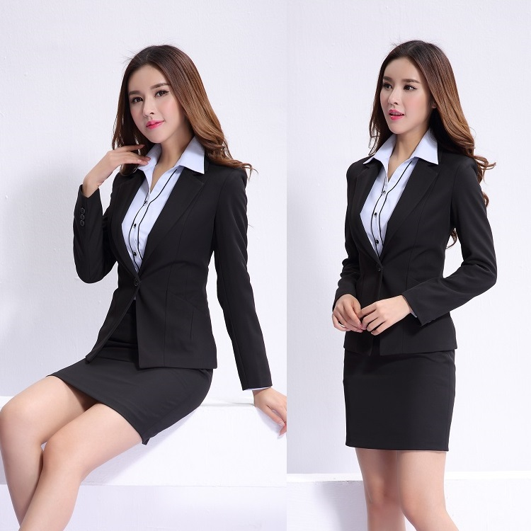 Compare prices on office uniform designs online shopping for Office uniform design 2016