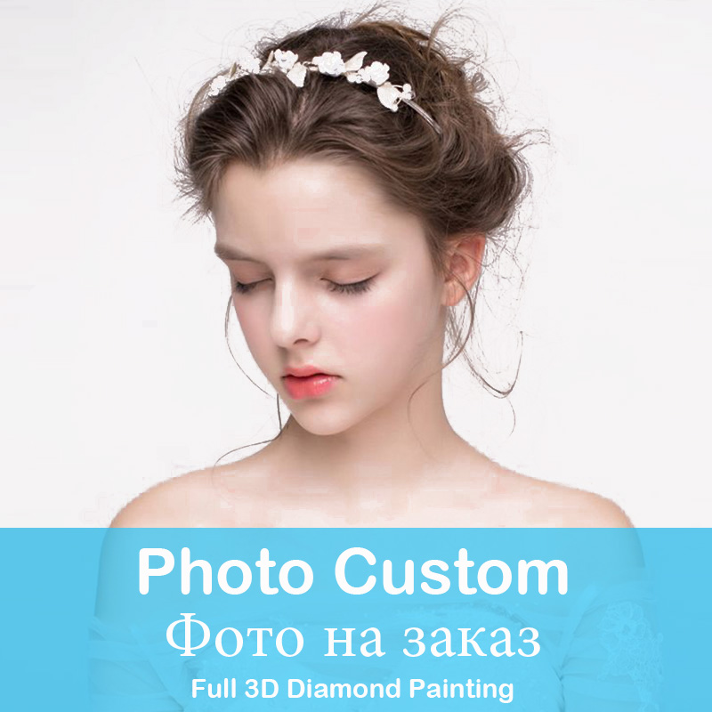 Photo Custom DIY diamond painting Wedding Pictures Personal Portrait Family Photo Custom Picture daimond painting diamant Mosaic