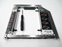 SATA 3.0 2ND HDD SDD Супер жесткий диск Caddy для Apple MacBook Pro 2011 2012