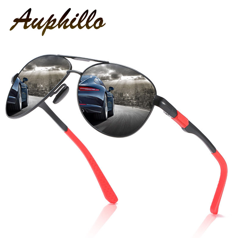 Sunglasses Men 2019 Brand Vintage Aluminum Magnesium Polarized Driving Glasses Pilot 164
